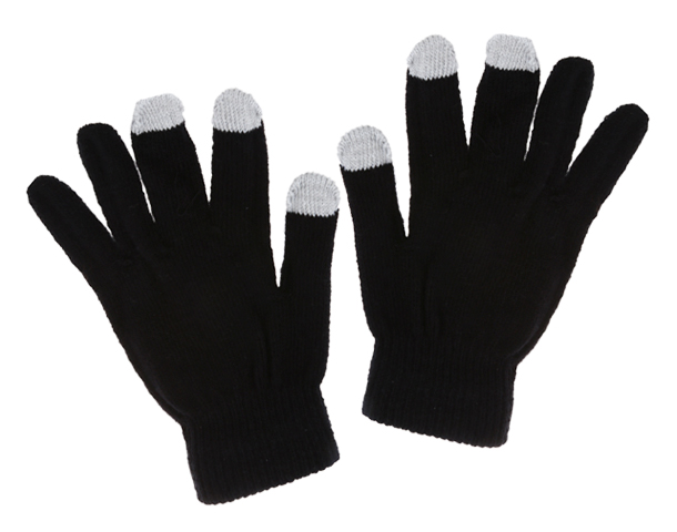 iPhone Touch Screen Gloves Black Canada